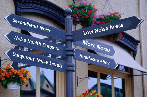 noise: directional arrows